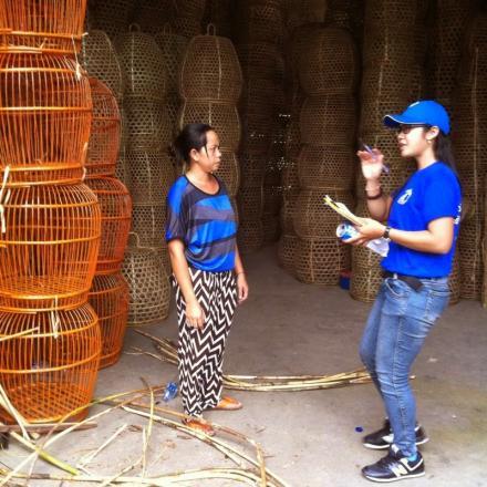 Kerajinan Anyaman Bambu Desa Sidetapa
