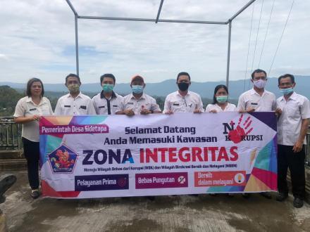 ZONA INTEGRITAS DESA SIDETAPA